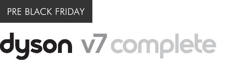 Dyson V7 logo motif logo