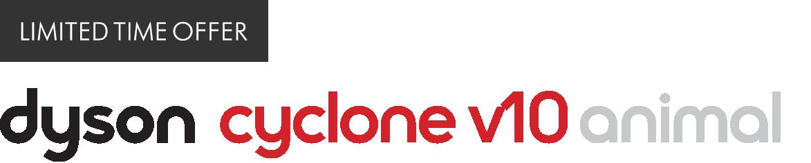 Latest Technology Dyson cyclone v10 animal Logo