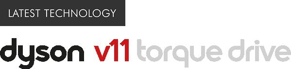 Latest Technology Dyson V11 Torque Drive Logo