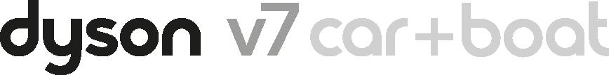 Dyson V7 Car + Boat logo