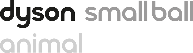 Dyson small ball animal logo