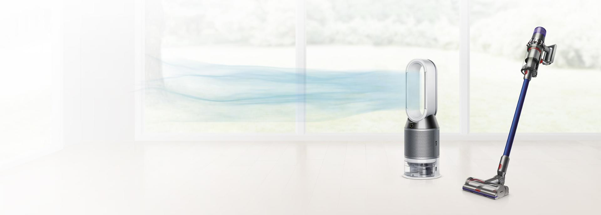 Dyson V11™ vacuum and Dyson Pure Cool™ air purifier