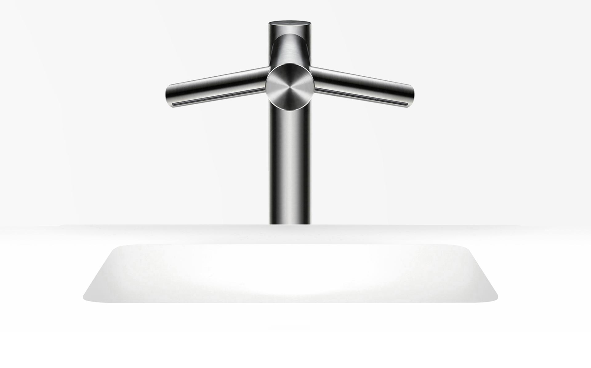 Dyson Airblade wash and dry tap tall