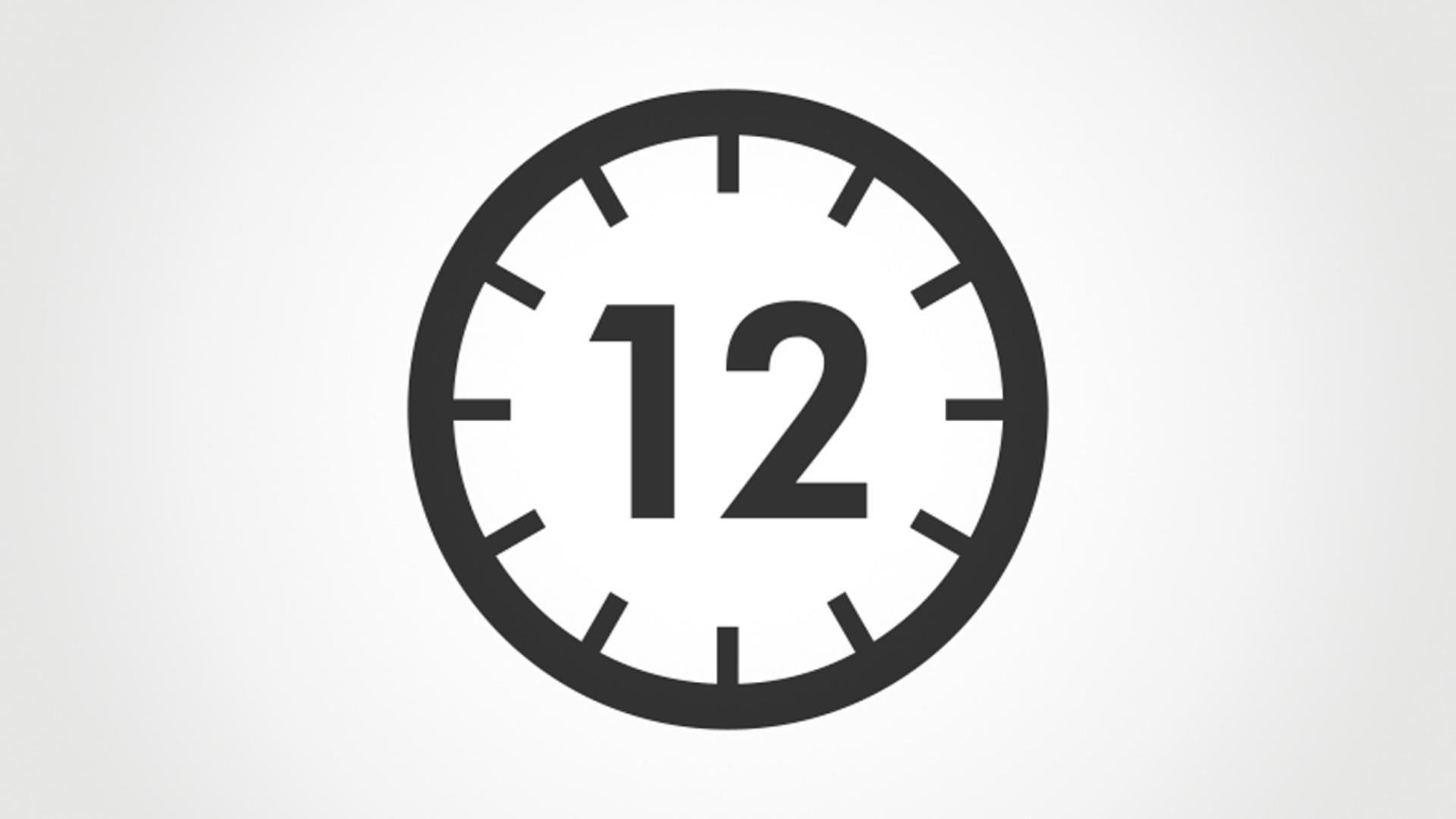 أيقونة 12 ثانية