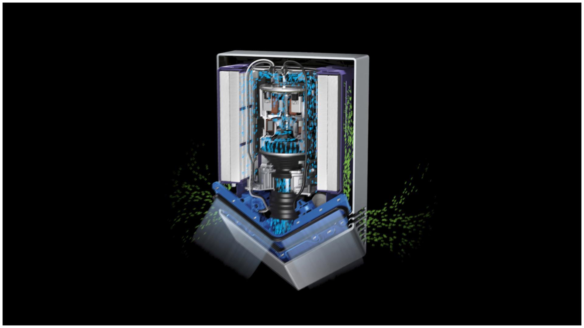 Mecanisme Dyson Airblade V