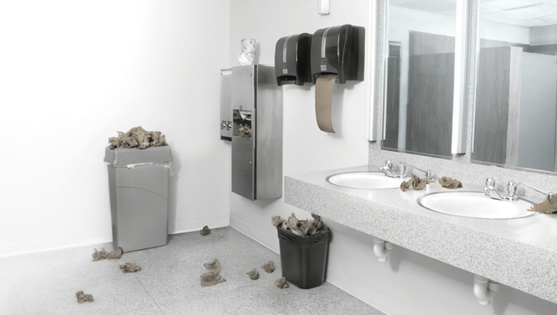 Baño sucio