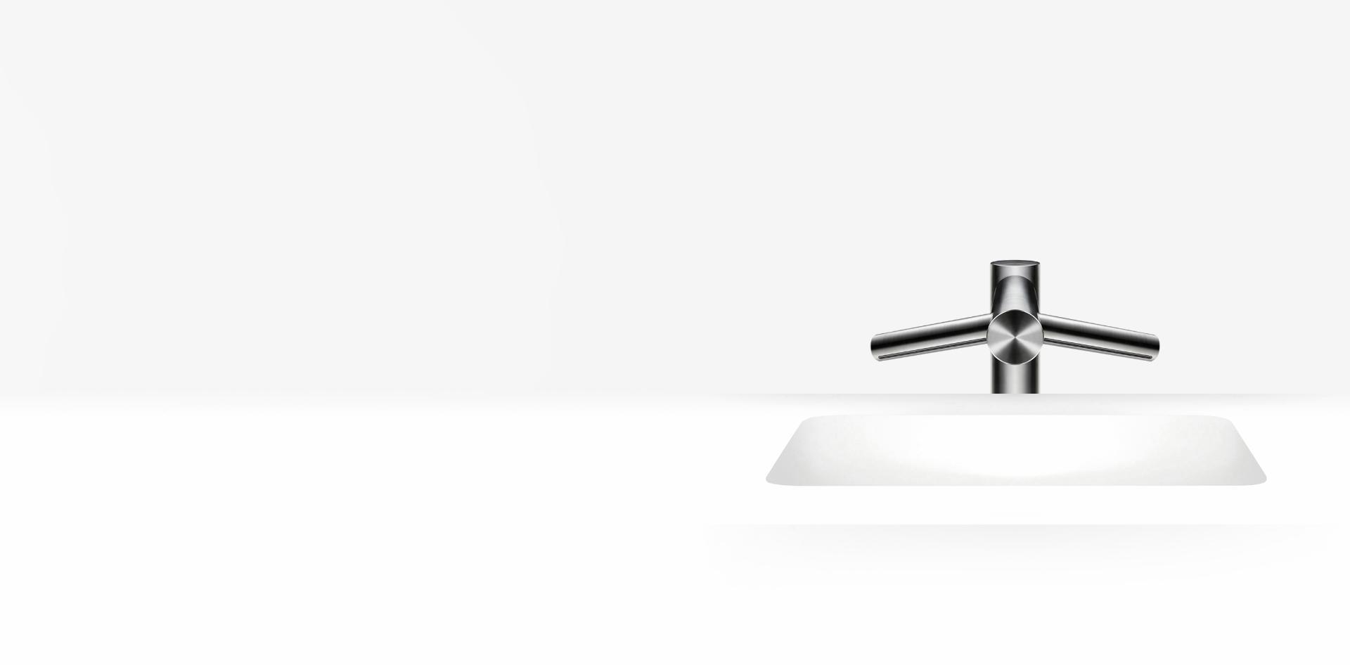 Dyson Airblade Wash + Dry rövid csap feletti kézszárító