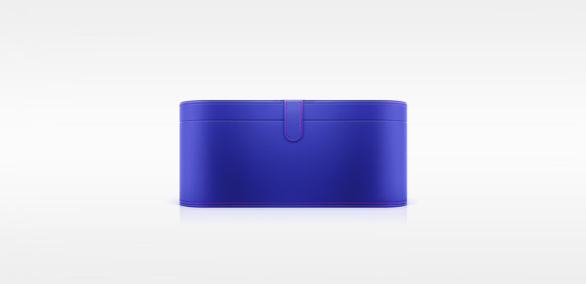 Cobalt blue presentation case