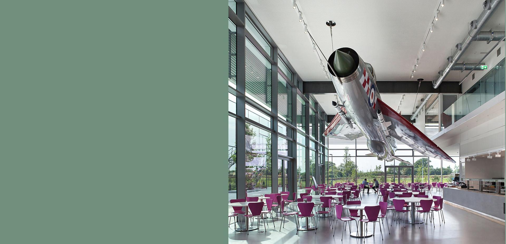 Dyson café with English Electric Lightning jet