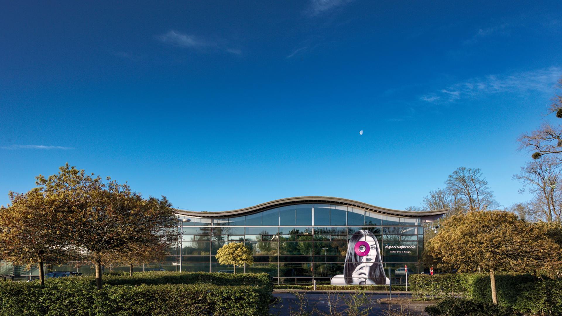 Dyson gyártás Malmesbury-ben