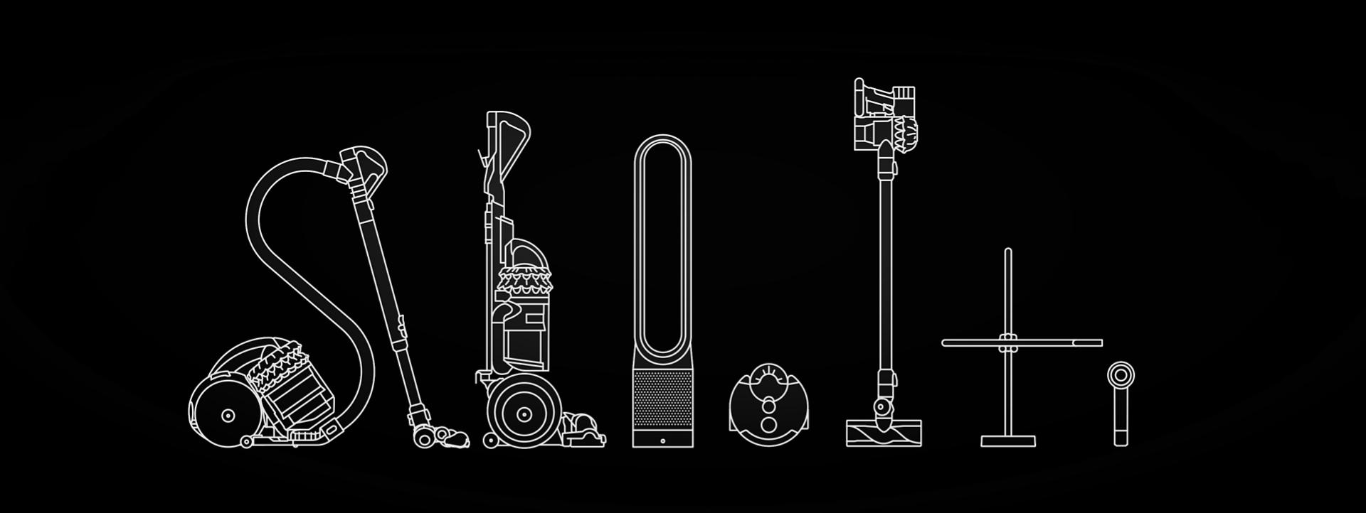 Dyson machine outlines