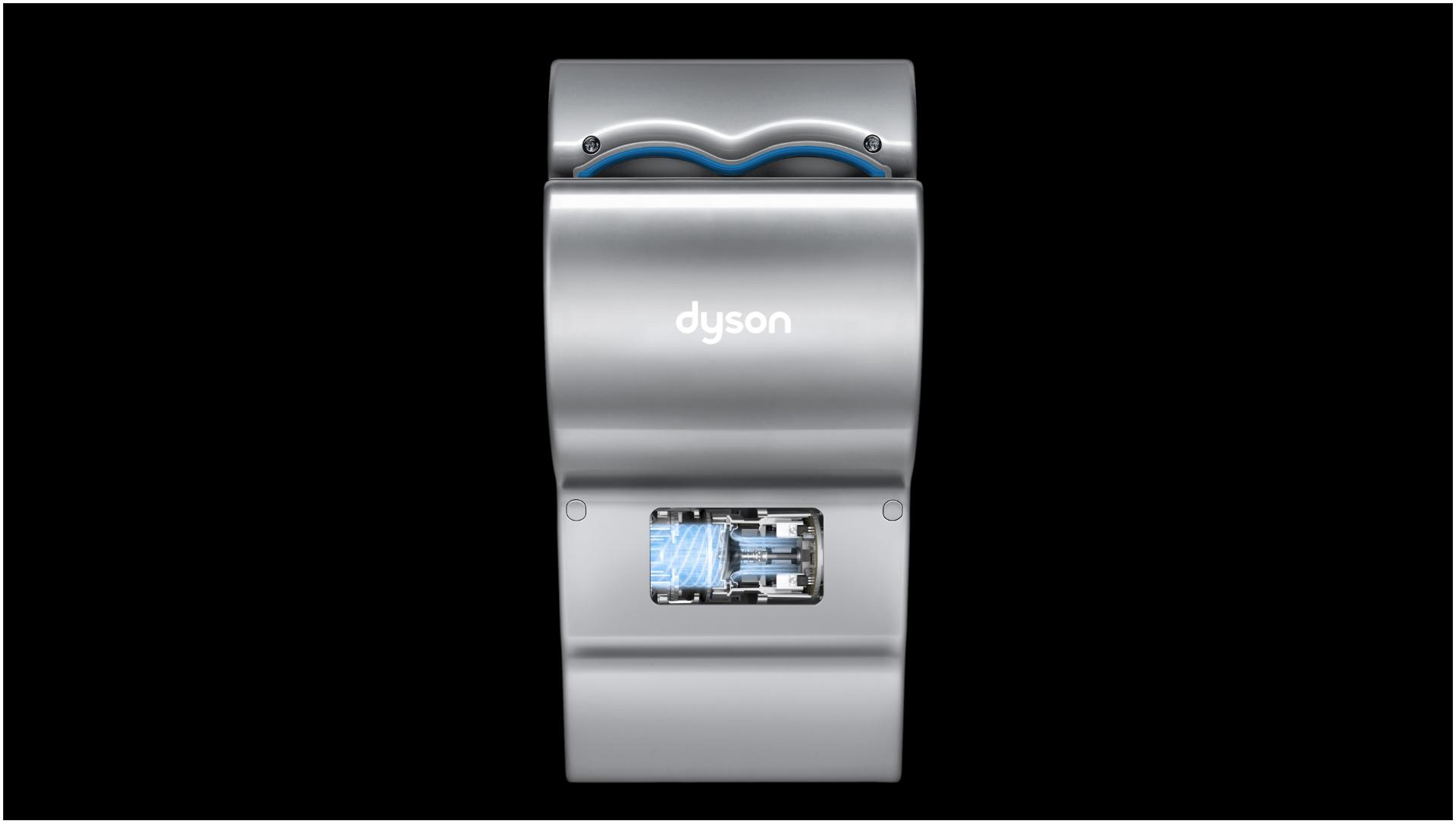 Dyson Airblade db han d dryer with motor exposed