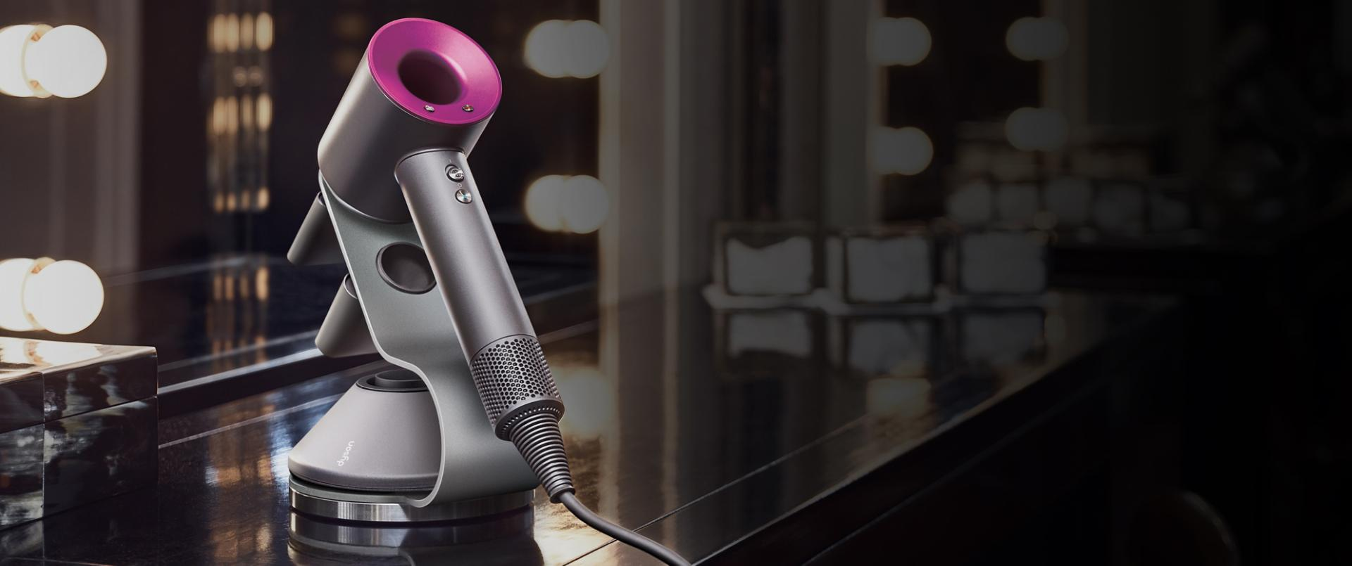 Dyson machines in hotel room