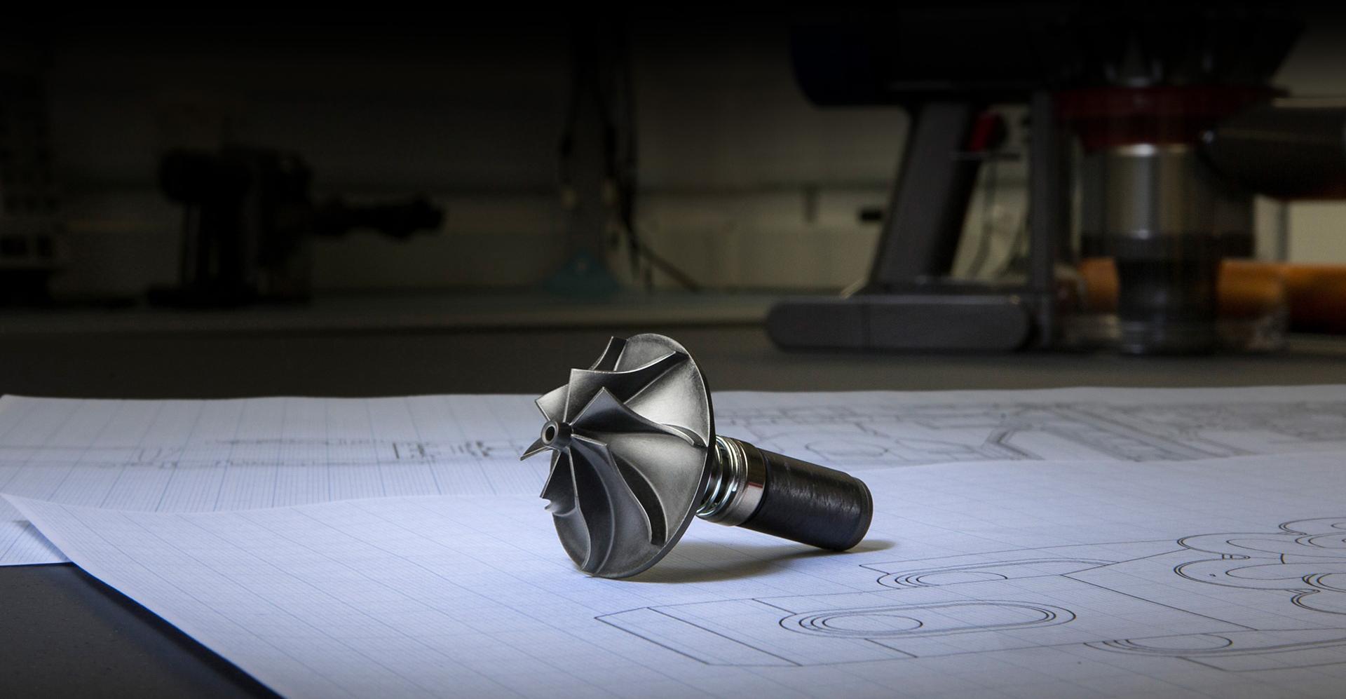 Dyson engineer sketch