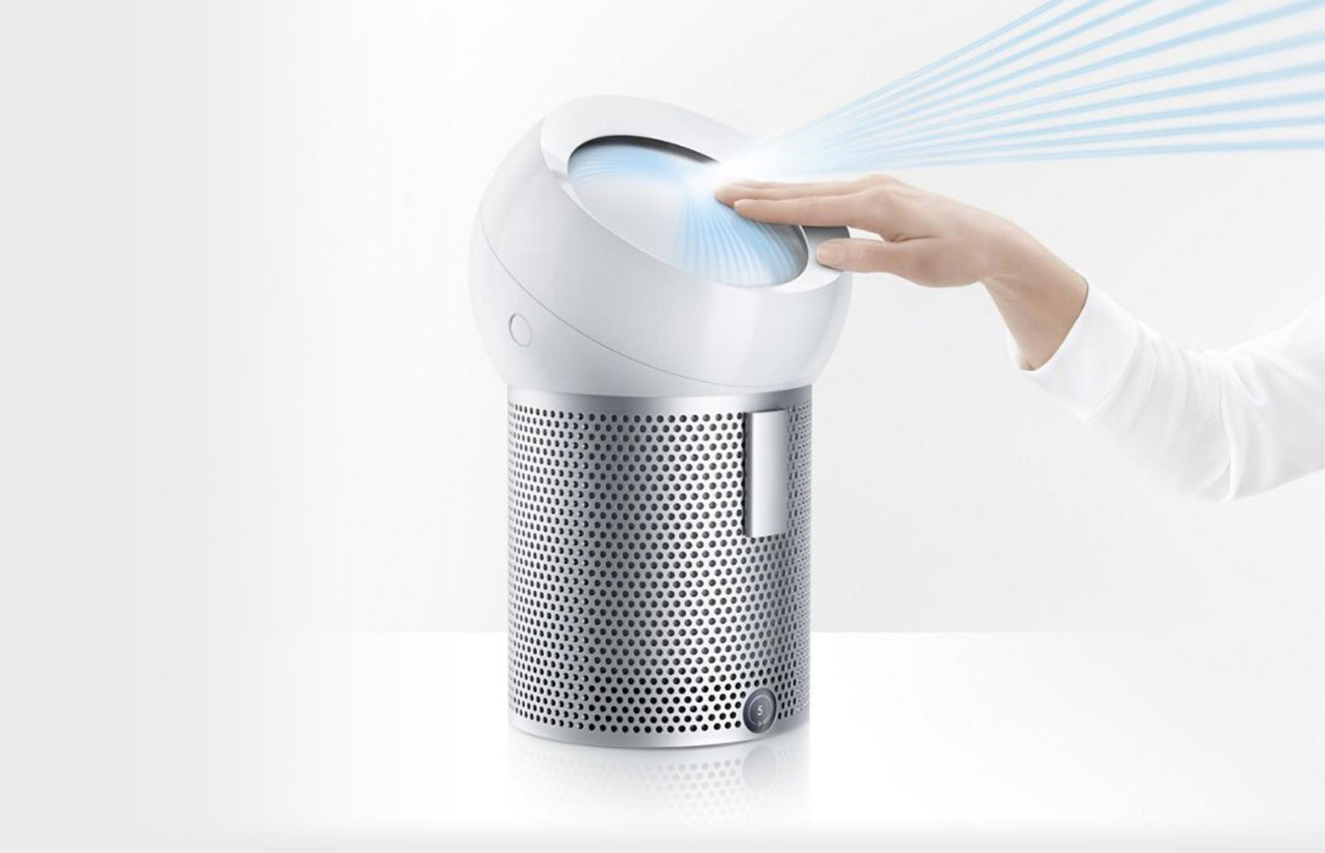 Dyson Pure Cool Me™ projecting a focused stream of purified air