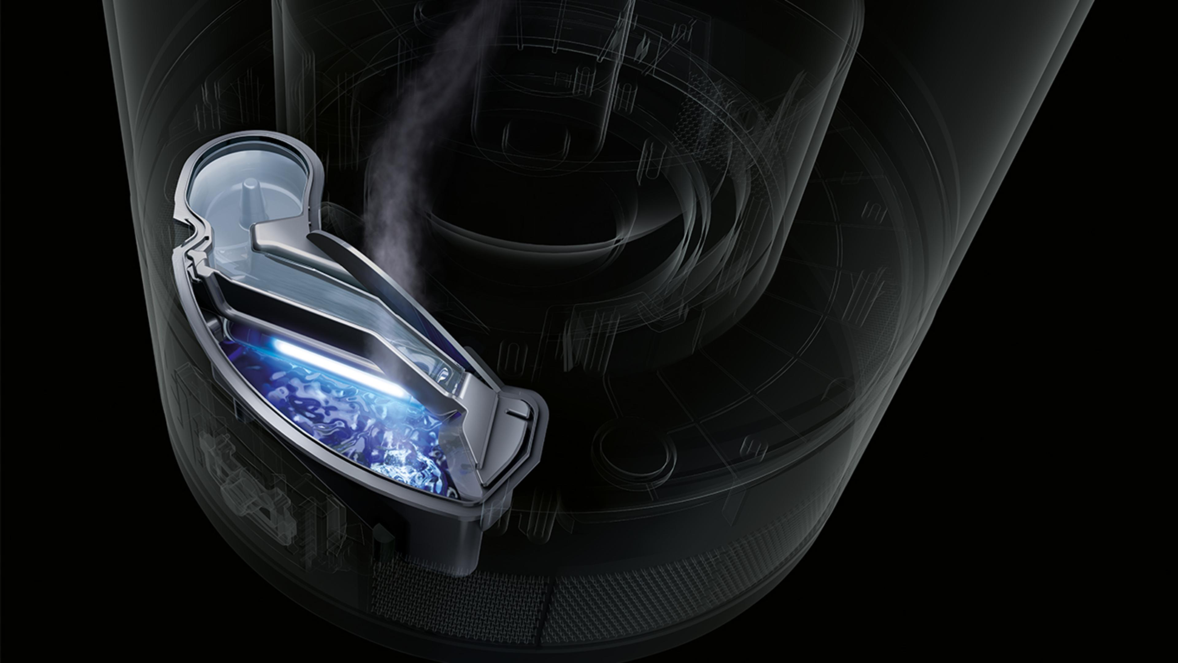 Dyson humidifiers ultraviolet cleanse