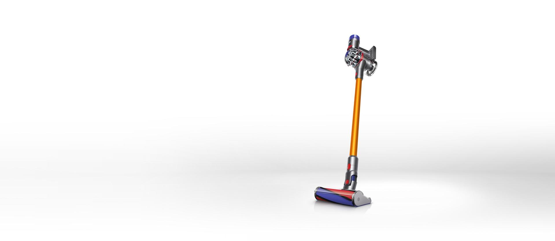 Two Dyson V8 vacuum cleaners