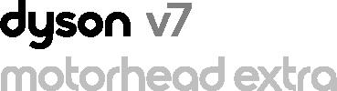 Dyson V7 Motorhead Extra Blue Motif