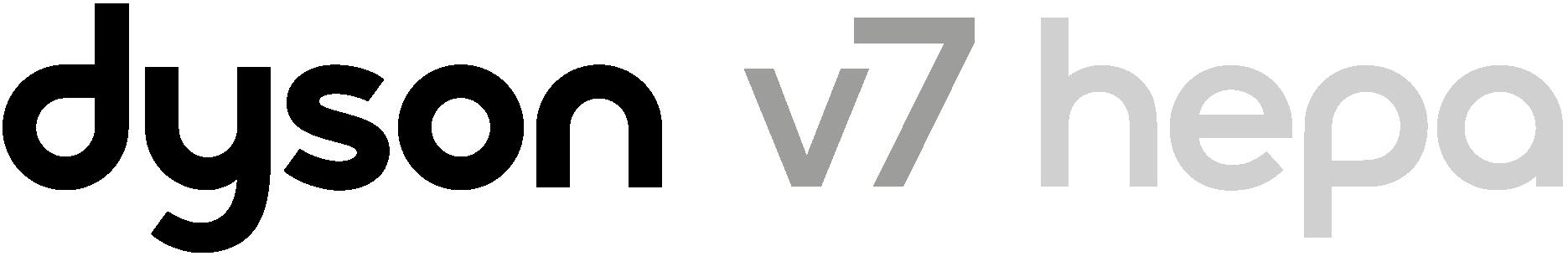 Dyson V7 Hepa vacuum logo