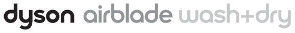 Logo Dyson Airblade Wash+Dry