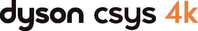 Dyson CSYS 4K task light logo