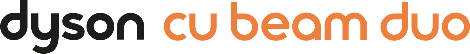 Dyson Cu-Beam Duo lighting logo