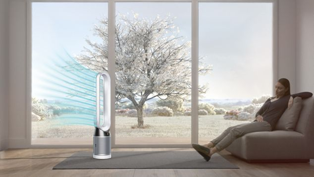 360° Glass HEPA filter
