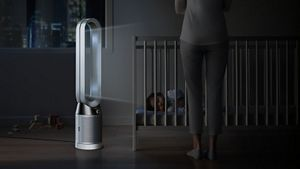 Dyson Pure Cool Tower night time mode