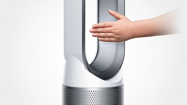 Tower purifying fan is safe and easy to clean