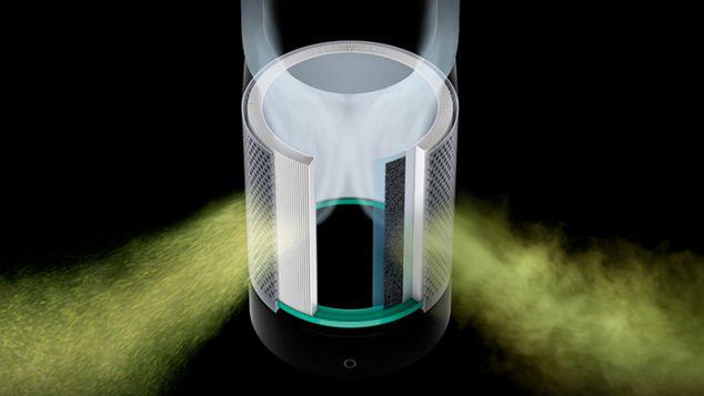 Intelligent purification on tower purifying fan