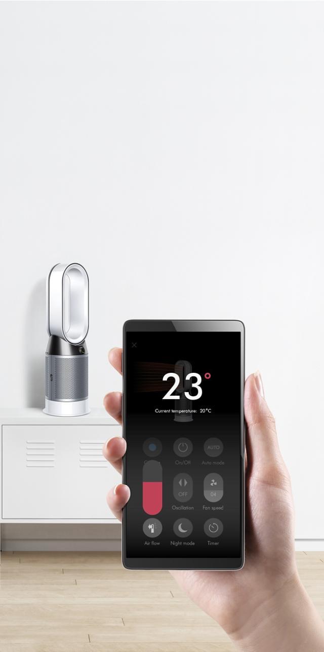 Pure Hot Cool Purifier Fan Heater App   Dyson