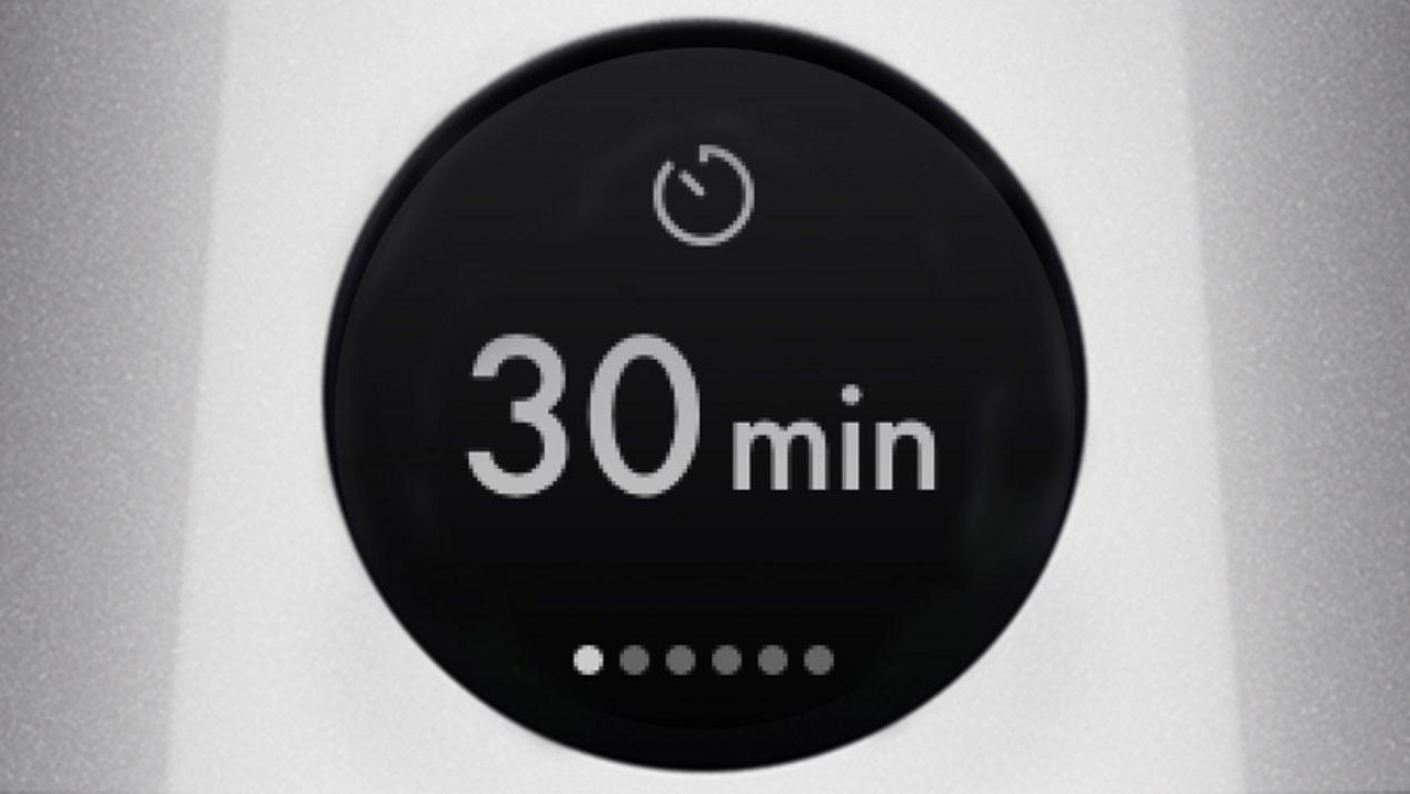 Sleep-Timer auf dem LCD-Display