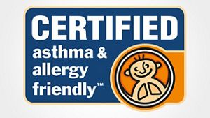 Certifiedby Allergy Standards Limited.