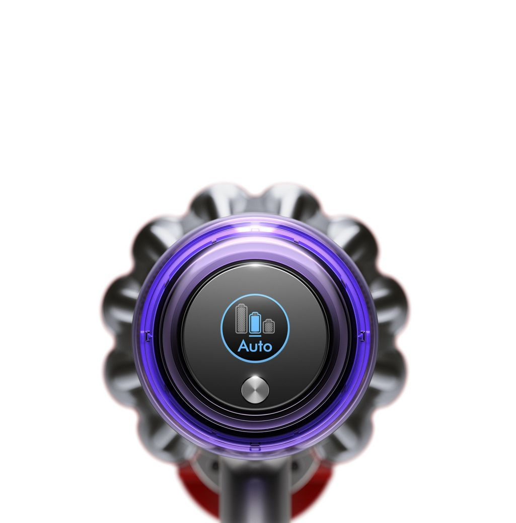 Dyson V11 Vacuum Screen Showing Auto Mode