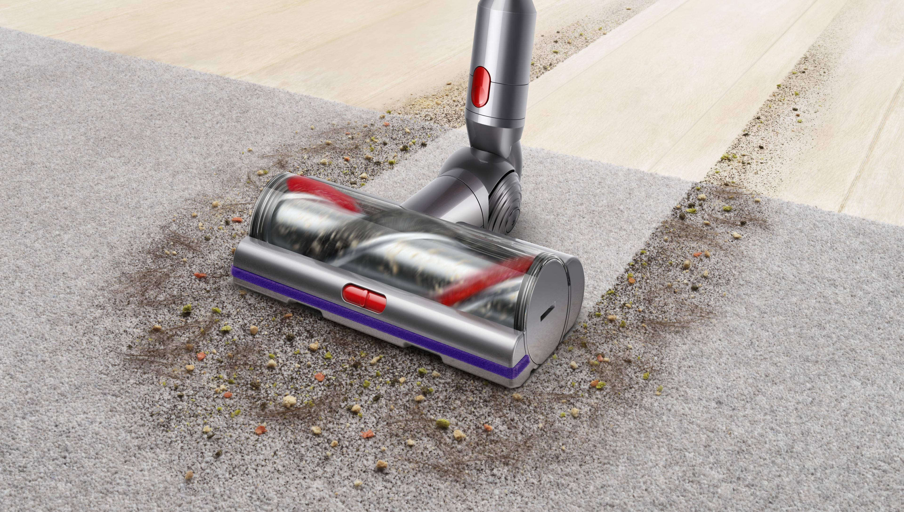 High Torque tisztítófej keménypadlón és szőnyegen
