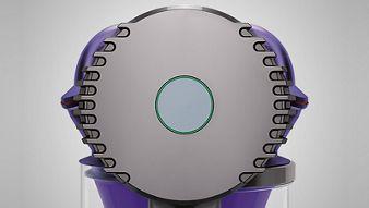 Dyson vacuum battery