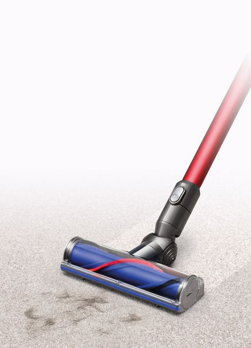 Dyson cleaner head on carpet