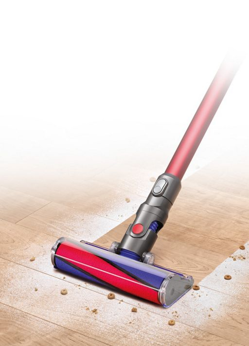 Dyson cleaner head on hard floor