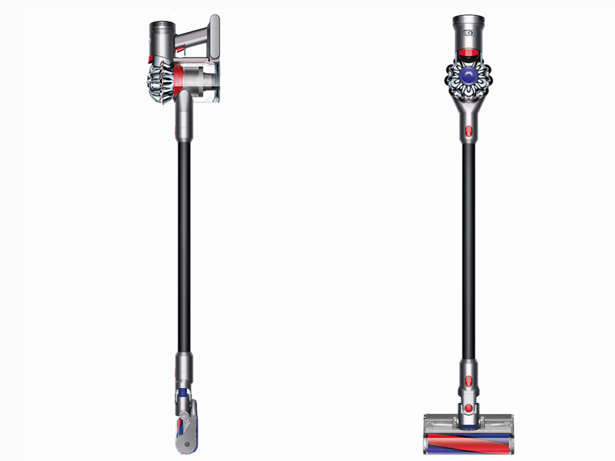 Dyson V7 stick vacuum cleaners