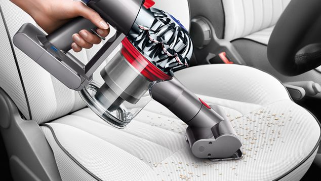 Mini motorised tool on car seat