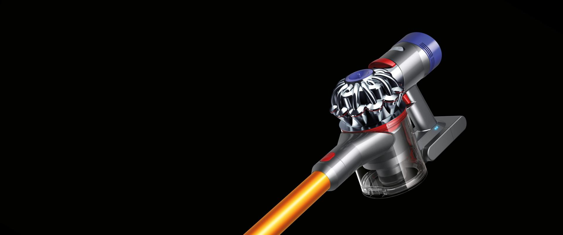 The Dyson V8 vacuum cleaner