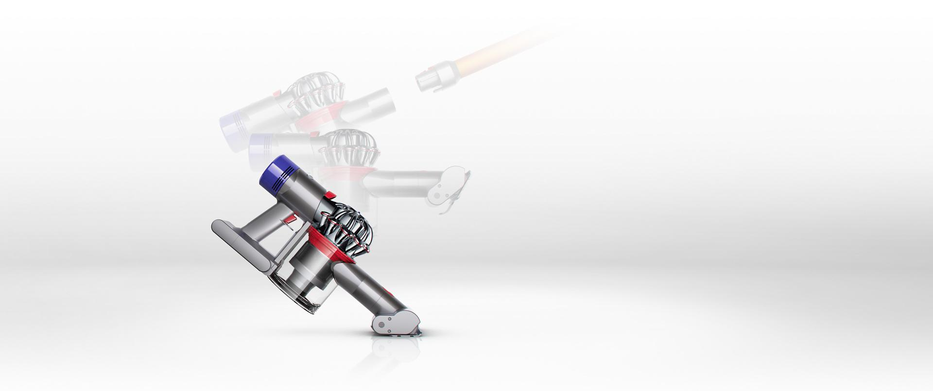 Dyson V8 being turned into a handheld vacuum