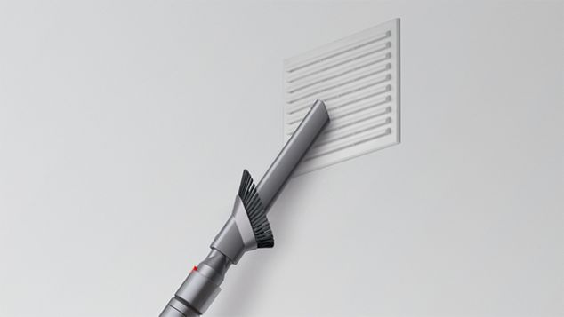 Powered by the Dyson digital motor V7
