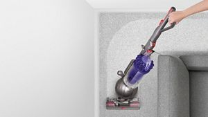 Dyson vacuum turning a corner