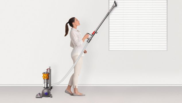 Dyson small ball multi floor reaches further