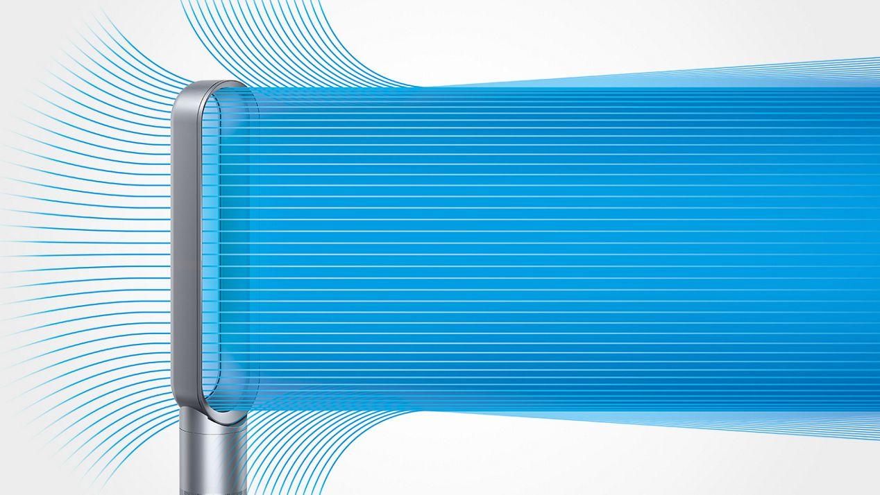 Darstellung der Air Multiplier™ Technologie