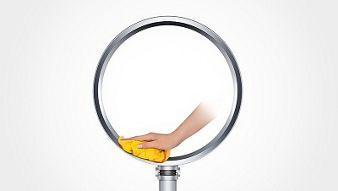 Dyson Cool™ AM08 pedestal fan (White/Silver)