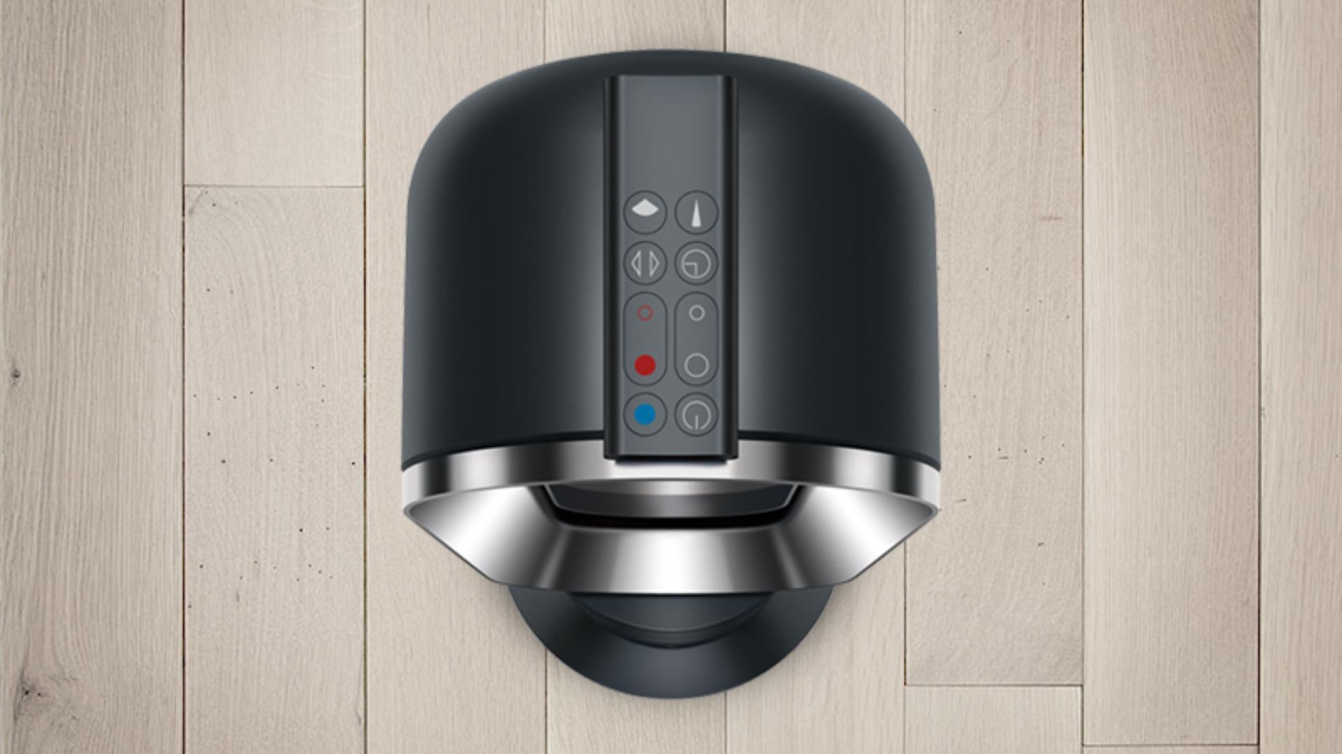 Remote control on Dyson fan heater