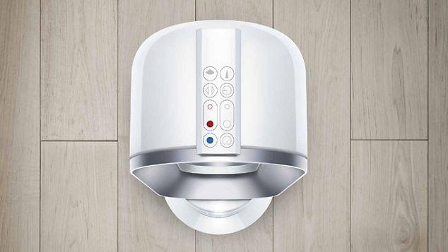 Télécommande magnétique sur un ventilateur chauffage