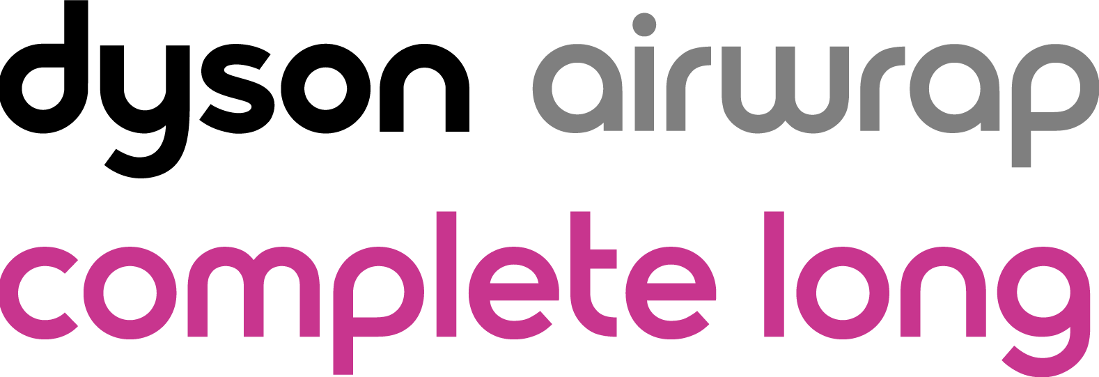 Logo Dyson Airwrap™ Complete Long